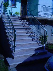 Marbrerie demuru la pierre le marbre le granite la for Escalier exterieur granit